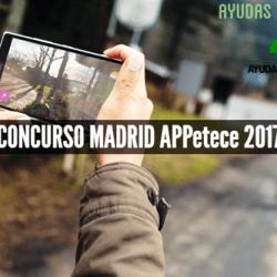 CONCURSO MADRID APPetece 2017
