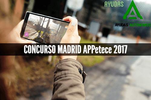 CONCURSO MADRID APPetece 2017 Categoría 2