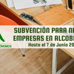 Ayuda Subvención para nuevas empresas en Alcobendas