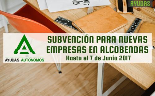 Ayuda: Subvención para nuevas empresas en Alcobendas