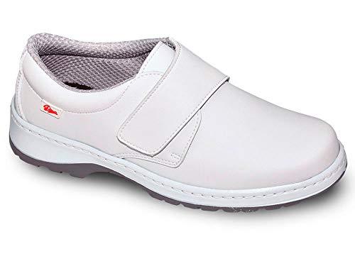 Milan-SCL Liso Color Blanco Talla 39, Zapato de Trabajo Unisex...