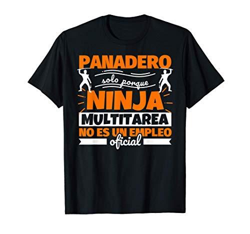 Panadero regalo divertido ninja Camiseta