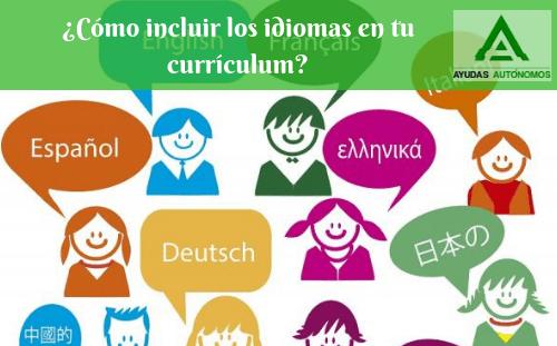 ¿Cómo incluir los idiomas en tu currículum