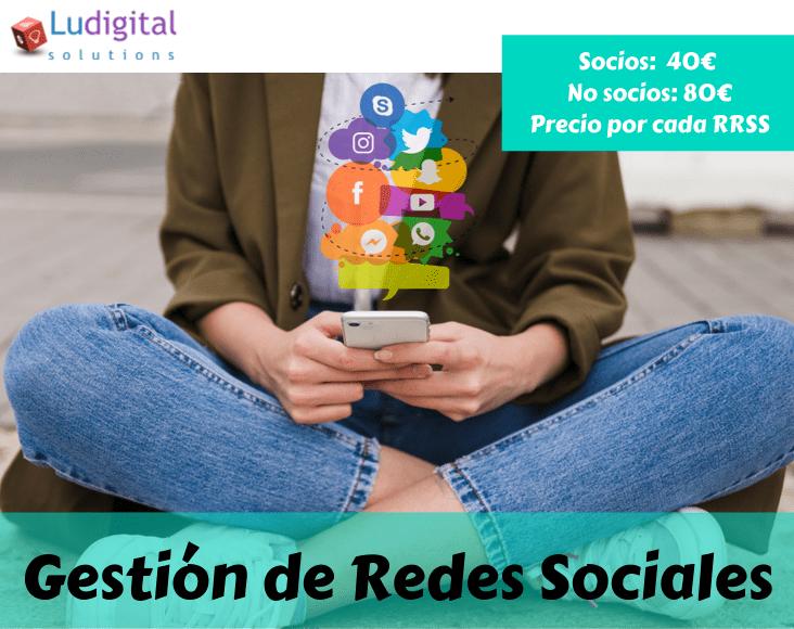 Gestión de Redes Sociales en Leganés Ludigital Solutions