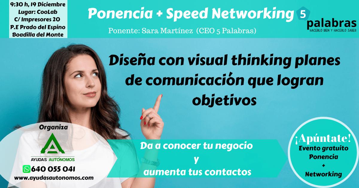 Diseña con visual thinking planes de comunicación que logran objetivos