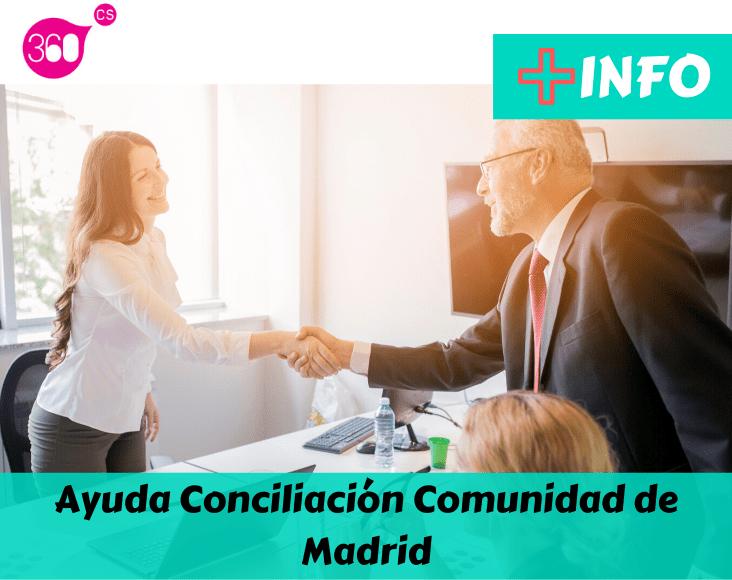 Ayuda Conciliación Comunidad de Madrid